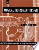 Musical Instrument Design