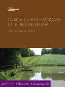 Pdf La Révolution française et le régime féodal Telecharger