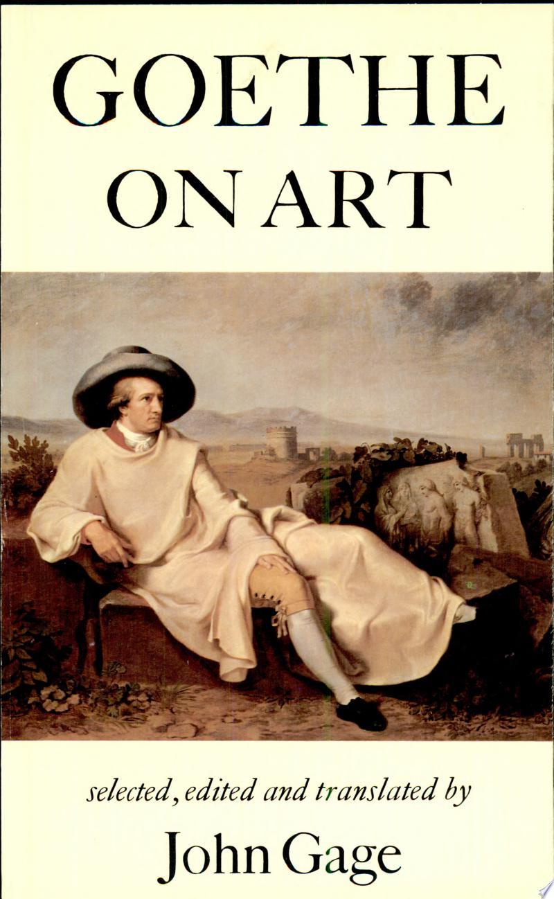 Goethe on Art banner backdrop