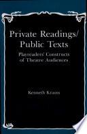 Private Readings public Texts