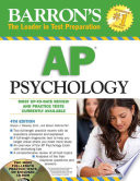 Barron's AP Psychology with CD-ROM