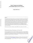 China s Employment Challenges and Strategies After the WTO Accession