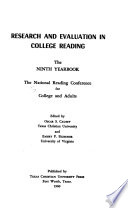Yearbook - National Reading Conference for Colleges and Adults