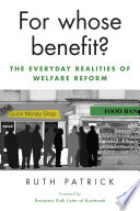 For whose benefit