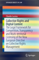 Collective Rights and Digital Content