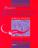 Plumer S Principles Practice Of Intravenous Therapy Book PDF