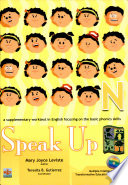 Speak Up N 2007 Ed  Book
