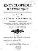 Arts et métiers mécaniques