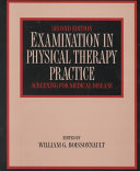 Examination in Physical Therapy Practice Book