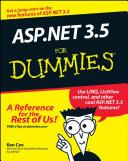 ASP.NET 3.5 For Dummies