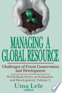 Managing a Global Resource Book