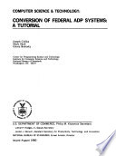 Conversion of Federal ADP Systems