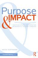 Purpose & Impact