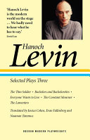 Hanoch Levin  Selected Plays Three
