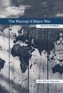 The Waning of Major War