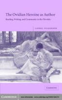 The Ovidian Heroine as Author