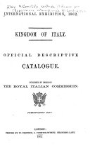 Official Descriptive Catalogue