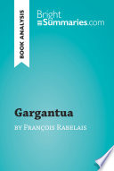 Gargantua by François Rabelais (Book Analysis)