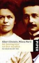 Am Sonntag küss' ich Dich mündlich  : die Liebesbriefe 1897 - 1903