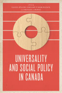 Universality and Social Policy in Canada [Pdf/ePub] eBook