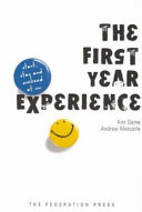 Pdf The First Year Experience Telecharger