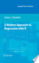 """A Modern Approach to Regression with R"" by Simon Sheather"