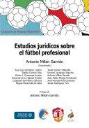 Estudios jurídicos sobre el fútbol profesional