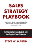 Sales Strategy Playbook