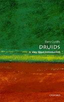 Pdf Druids: A Very Short Introduction Telecharger