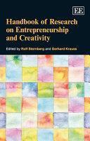 Pdf Handbook of Research on Entrepreneurship and Creativity Telecharger