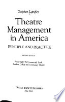 Theatre Management & Production in America