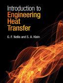 Introduction to Engineering Heat Transfer Pdf/ePub eBook