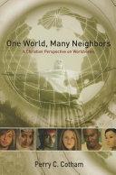 One World  Many Neighbors