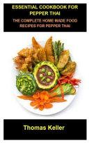 Essential Cookbook for Pepper Thai Book