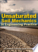 Book Cover: Unsaturated soil mechanics in engineering practice
