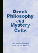 Greek Philosophy and Mystery Cults