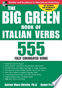 The Big Green Book Of Italian Verbs