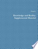 Knowledge And Reality [Pdf/ePub] eBook