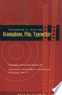 Gramophone Film Typewriter