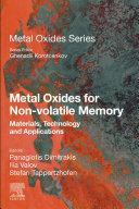 Metal Oxides for Non-volatile Memory