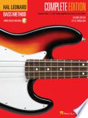 Hal Leonard Bass Method   Complete Edition Book