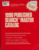 Published Search Master Catalog
