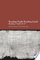 Reading Nephi Reading Isaiah