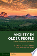 Anxiety in Older People