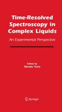 Time-Resolved Spectroscopy in Complex Liquids Pdf/ePub eBook