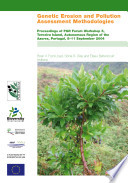 Genetic Erosion and Pollution Assessment Methodologies