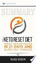 Summary of The Keto Reset Diet