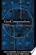 """Geocomputation"" by Robert J. Abrahart, Stan Openshaw, Linda M. See"