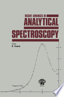 Recent Advances in Analytical Spectroscopy