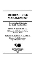 Medical Risk Management Book